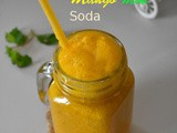 Mango mint soda recipe , mango mint sparkling water recipe