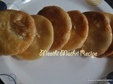 Meethi Mathri Recipe , how to make sweet mathari at home