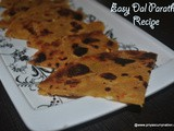 Leftover dal paratha recipe, how to make dal paratha from leftover dal