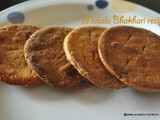 Masala crisp Bhakhari recipe, how to make cripsy bhakhri for snacks at home