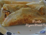 Mumbai Mysore Masala Dosa recipe, how to make mysore masala dosa bombay style