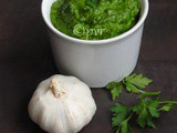 Vegan Parsley Almond Pesto