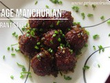Cabbage Manchurian Recipe/Restaurant Style Cabbage Manchurian/How to make Cabbage Manchurian with step by step photos and Videos