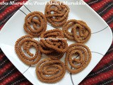 Kambu Murukku Recipe/Pearl Millet Murukku Recipe/Bajra Chakli/How to make Kambu Murkku with step by step photos- Easy Diwali Snacks