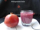 Pomegranate Juice/How to make Pomegranate Juice/How to break open Pomegranate fuit easily and quickly