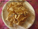 Ribbon Pakoda/Ribbon Karasev –Method 3 -Krishna Jayanthi/Gokulashtami Special/Diwali Special Snacks/Easy Diwali Snacks/Easy Tea time Snacks