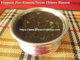 Veppam Poo Rasam/Neem Flower Rasam Recipe/How to Make Veppam Poo Rasam – Tamil New Year Special Recipe