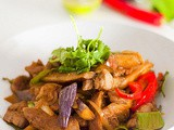 Thai Chilli Jam (Nam Prik Pao) Stir Fry Pork