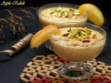 Apple Rabri/Kheer – Apple dessert with Condensed Milk