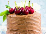 Basic eggless chocolate cake recipe without condensed milk