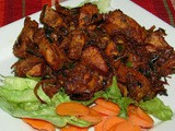 Kerala Chicken Roast Recipie Step by Step Procedure