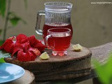 Hibiscus tea recipe | sembaruthi poo tea