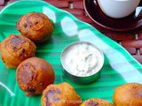 Sweet Potato Bonda | Snacks Recipes