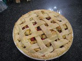 Gluten Free Pie Crust with Cranberry Filling