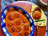 Chicken Koftas in Butter Masala g-ravy