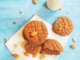 Choco Peanut Butter Almond Cookies
