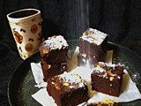 One Bowl Nutty Cocoa Brownies