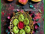 Pistachio Peda in Microwave for Holi Celebration