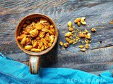 Roasted Nuts and Rajgira Trail Mix | How to make Roasted Nuts and Rajgira Trail Mix