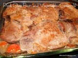 Pork Chops Beans and Vegetables Casserole