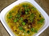 Masoor Dal Dalia: Oatmeal, Pink Lentil - Quick healthy meal ideas - food healthy