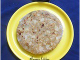 Aloo paratha /Potato stuffed paratha