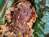 Karimeen vazhayilayil pollichathu / Pearl spot in wrapped bananal leaf