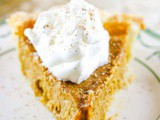 Butternut Squash Pie {Or Hubbard, Acorn, etc}