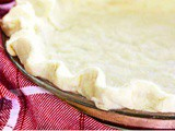 Easiest All Butter Flaky Pie Crust Recipe {Video}