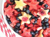 Easy Summer Fruit Salad with Honey Lime Dressing