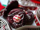 Hershey's Kiss Cookies: Red Velvet