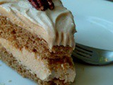 Spice Cake Recipe with Maple Cream Cheese Frosting
