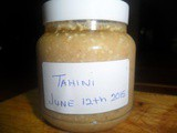 CarolCooks2…Week 4…in my Kitchen…made from scratch…Tahini Paste