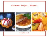 Christmas Recipes…Bingsu, Sticky Rice with Mango, Creme Brulee and Fresh Fruit Salad