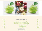 Fruity Friday…Apples