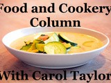 Smorgasbord Blog Magazine – The Food and Cookery Column with Carol Taylor – Chinese Chicken/Pork with Water Chestnuts, Quick Pickling and Bread Rolls