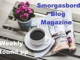 Smorgasbord Blog Magazine – Weekly Round Up – 6th – 12th December 2020 – New Book, International Carols, Foods xyz and a Christmas Party with pets