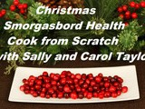 Smorgasbord Health – Christmas Cook From Scratch – Sally Cronin and Carol Taylor – Perfect and Healthy Brussel Sprouts