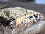 Blueberry Crumble Cake