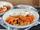 Recipe: Sweet Potato Hash with Poached Egg