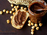 Homemade Nutella (Chocolate Hazelnut Spread) ~ Just Takes 3 Ingredients