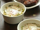 Sheer Khurma (Milk with Dates) | Festive Vermicelli Kheer ~ Easy Recipe to Celebrate 2 Million Page Views