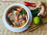 Tom Yum Goong (Thai Style Shrimp Soup) - When The Hubby Cooks