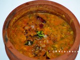 Cheera Sambar | Red Spinach Sambar