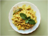 Fish Egg Bhurji | Scrambled Fish Egg and Bamboo shoots