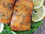 Easy Air Fryer Honey Salmon Recipe
