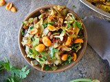 Easy Cabbage Salad with Lentils