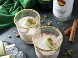Pistachio White Chocolate Rum Popsicles with Tiger's Milk