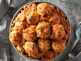 Spicy Baked Chicken Meatballs