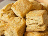 A Flaky Biscuit Recipe Made with Yogurt Whey or Buttermilk